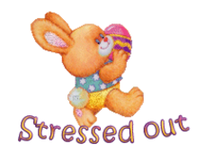 Stressed out - EasterBunnyWithEgg16