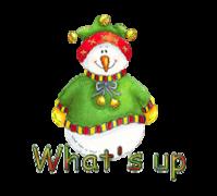 What's up - ChristmasJugler