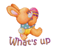 What's up - EasterBunnyWithEgg16