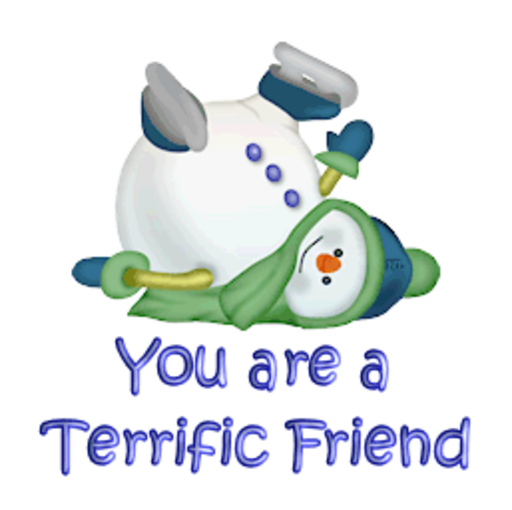 You are a Terrific Friend - CuteSnowman1318
