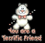 You are a Terrific Friend - HuggingKitten NL16