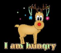 I am hungry - ChristmasReindeer