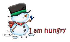 I am hungry - Snowman&Bird