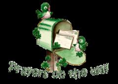 Prayers on the way - StPatrickMailbox16