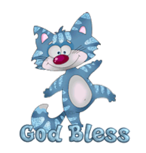 God Bless - DancingCat