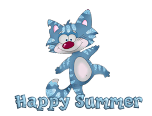 Happy Summer - DancingCat