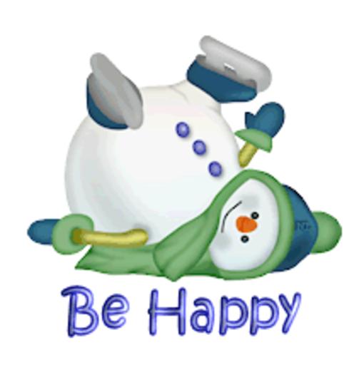 Be Happy - CuteSnowman1318