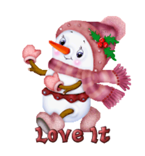 Love It - CuteSnowman