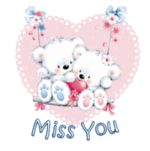 Miss You - ValentineBearsCouple