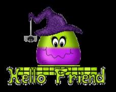 Hello Friend - CandyCornWitch