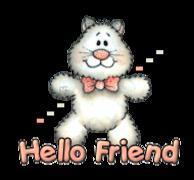 Hello Friend - HuggingKitten NL16