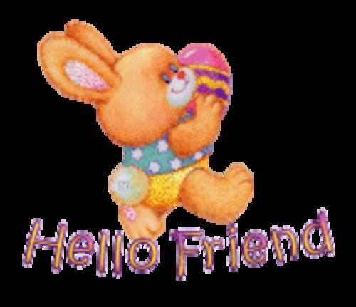Hello Friend - EasterBunnyWithEgg16