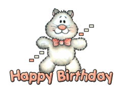 Happy Birthday - HuggingKitten NL16