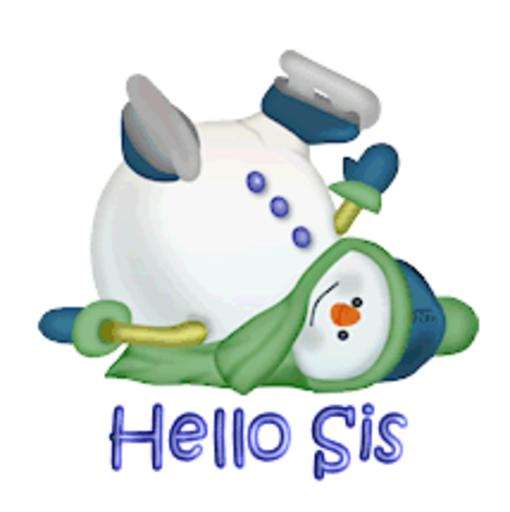 Hello Sis - CuteSnowman1318