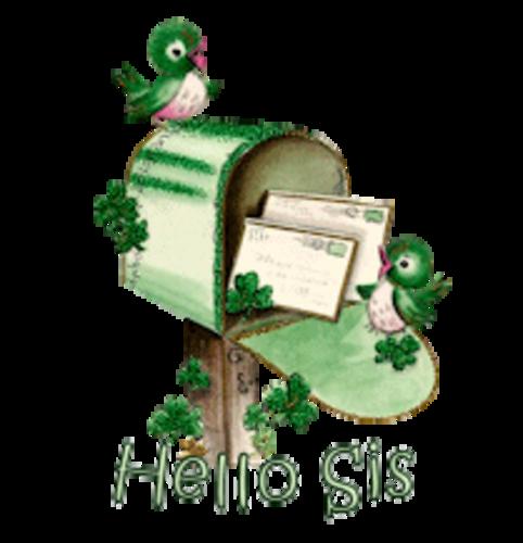 Hello Sis - StPatrickMailbox16