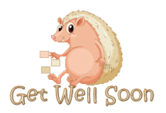 Get Well Soon - CutePorcupine