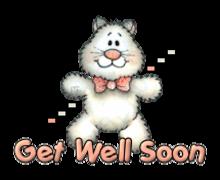 Get Well Soon - HuggingKitten NL16