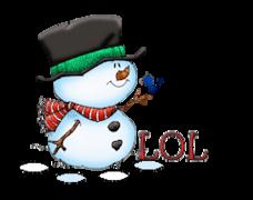 LOL - Snowman&Bird