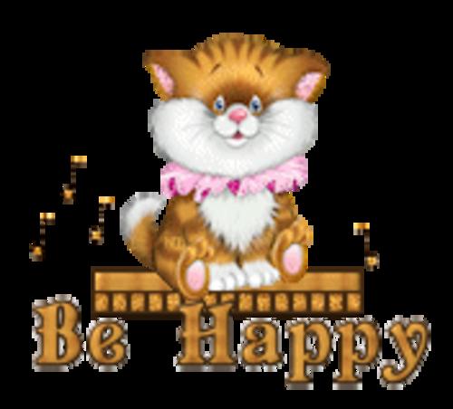 Be Happy - CuteKittenSitting