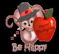 Be Happy - ThanksgivingMouse