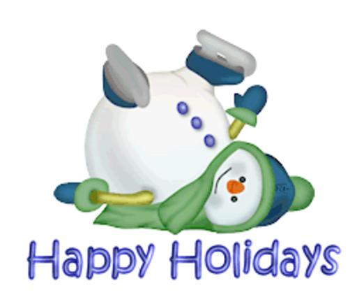 Happy Holidays - CuteSnowman1318