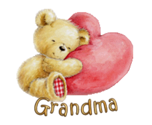 Grandma - ValentineBear2016