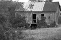Weathered Barn #2 (black and white)
