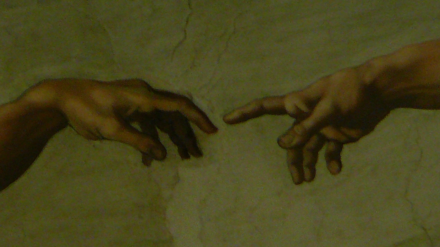 """Creation"" by Michelangelo on Sistine Chapel"