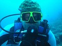 Our Diving Friend Roman with Coral Hat