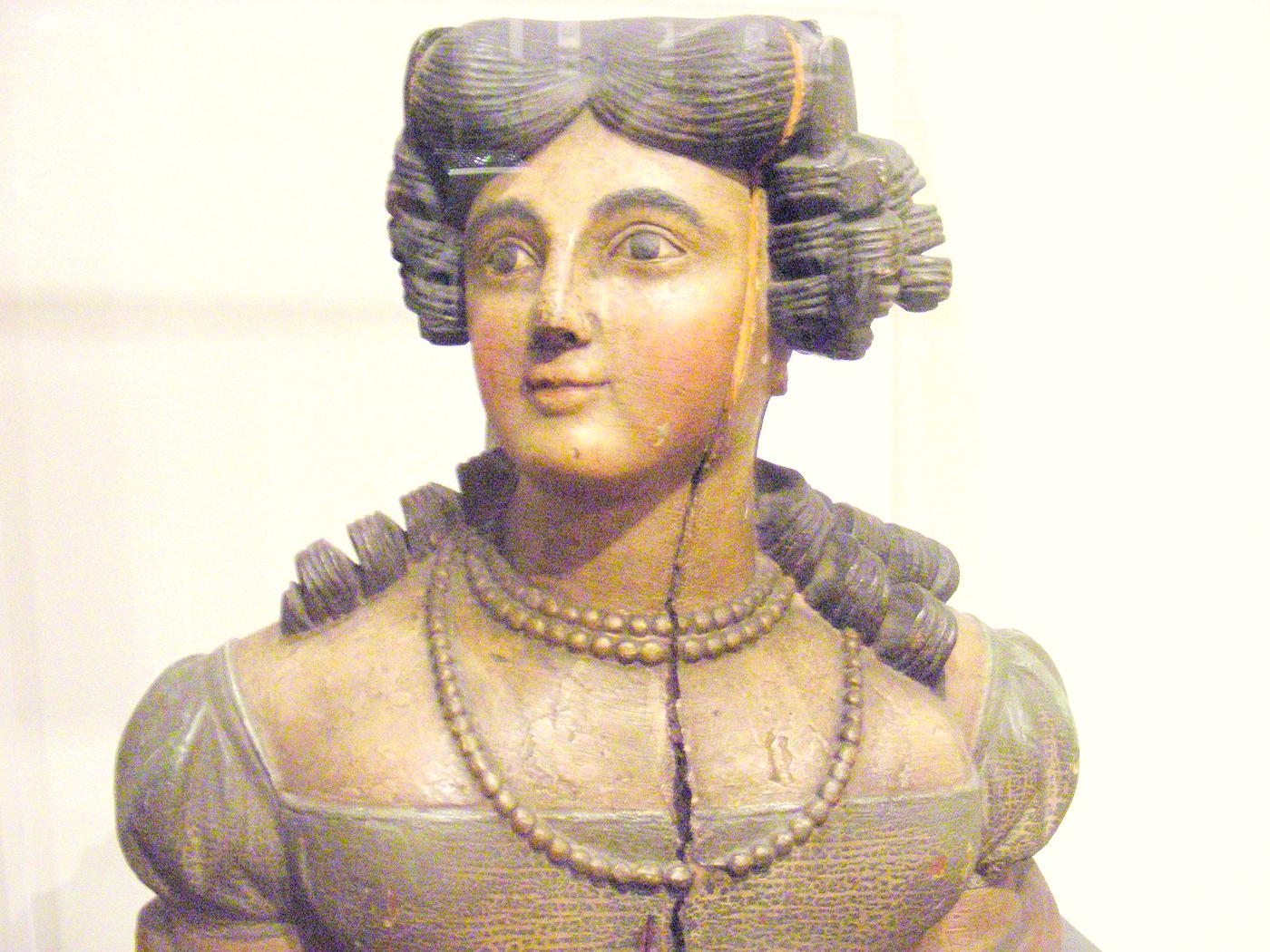 Peabody Essex Museum Victorian figure head