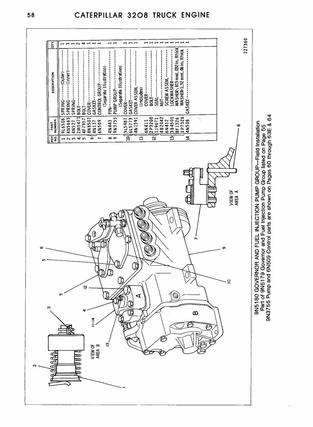 Photo: 3208 Parts Manual Pagina 118 | CAT 3208 dieselengine parts manual  album | modeltrucks25 | Fotki.com, photo and video sharing made easy.Fotki