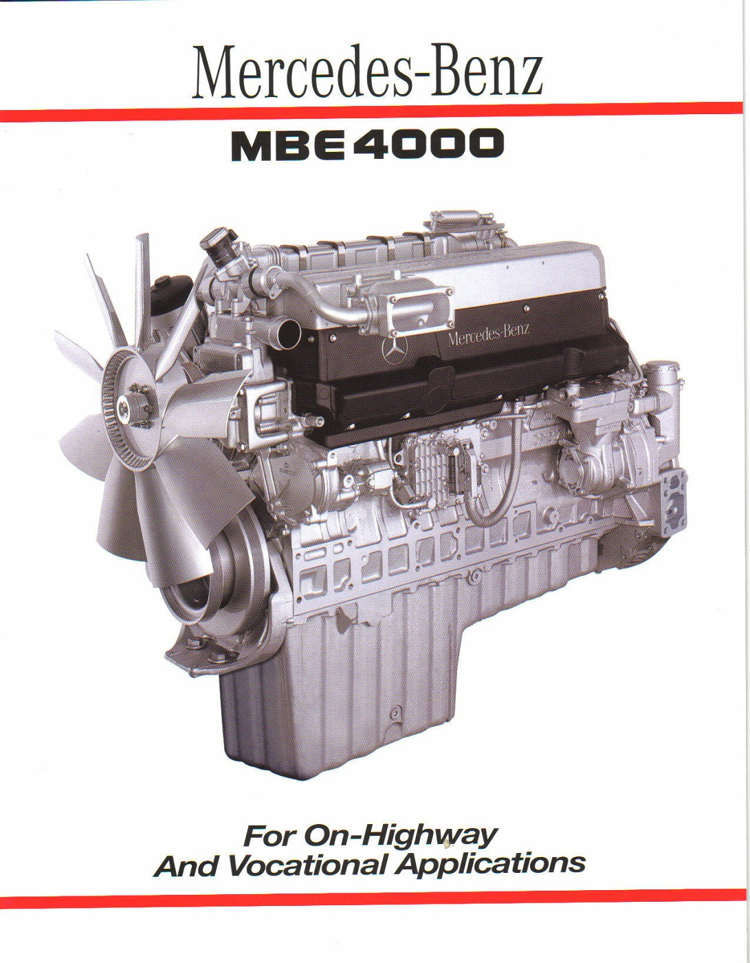 Photo 03a414 1 mb mbe4000 diesel engine album for Mercedes benz diesel engines