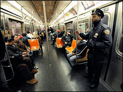 Federal authorities are warning law enforcement personnel of a possible terror plot against the New York City subway and train systems