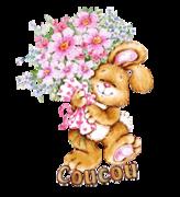 Coucou - BunnyWithFlowers