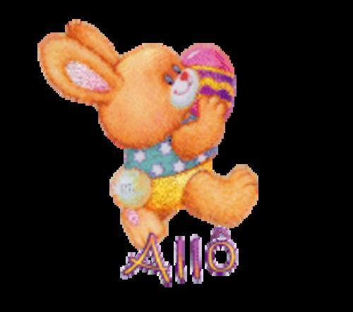 Allo - EasterBunnyWithEgg16