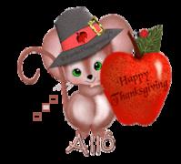 Allo - ThanksgivingMouse