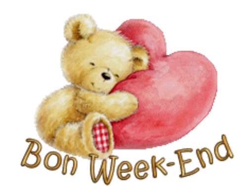 Bon Week-End - ValentineBear2016