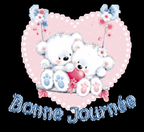 Bonne Journee - ValentineBearsCouple