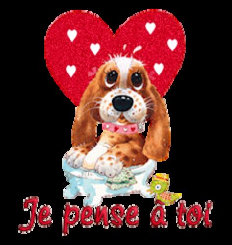 Je pense a toi - ValentinePup2016