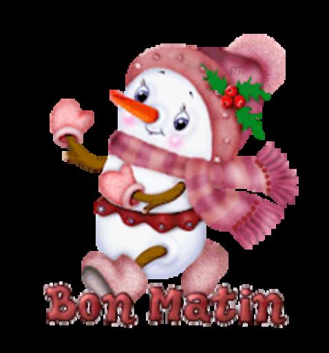 Bon Matin - CuteSnowman