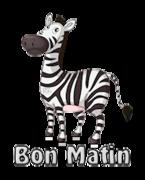 Bon Matin - DancingZebra