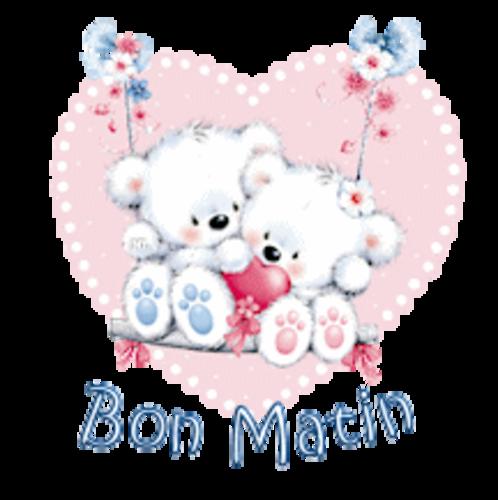 Bon Matin - ValentineBearsCouple