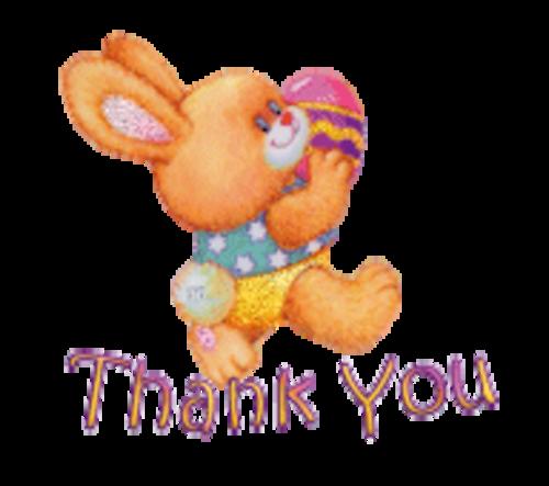Thank You - EasterBunnyWithEgg16