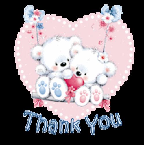 Thank You - ValentineBearsCouple
