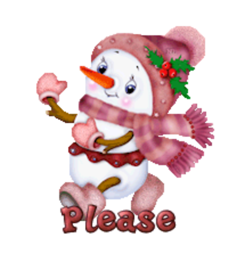 Please - CuteSnowman