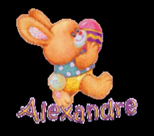 Alexandre - EasterBunnyWithEgg16