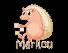 Marilou - CutePorcupine