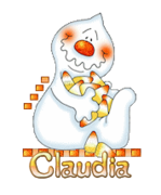 Claudia - CandyCornGhost
