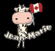 Jean-Marie - CanadaDayCow