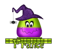 France - CandyCornWitch